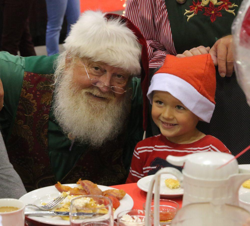 Breakfast with Santa at Randolph School\'s Under the Christmas Tree