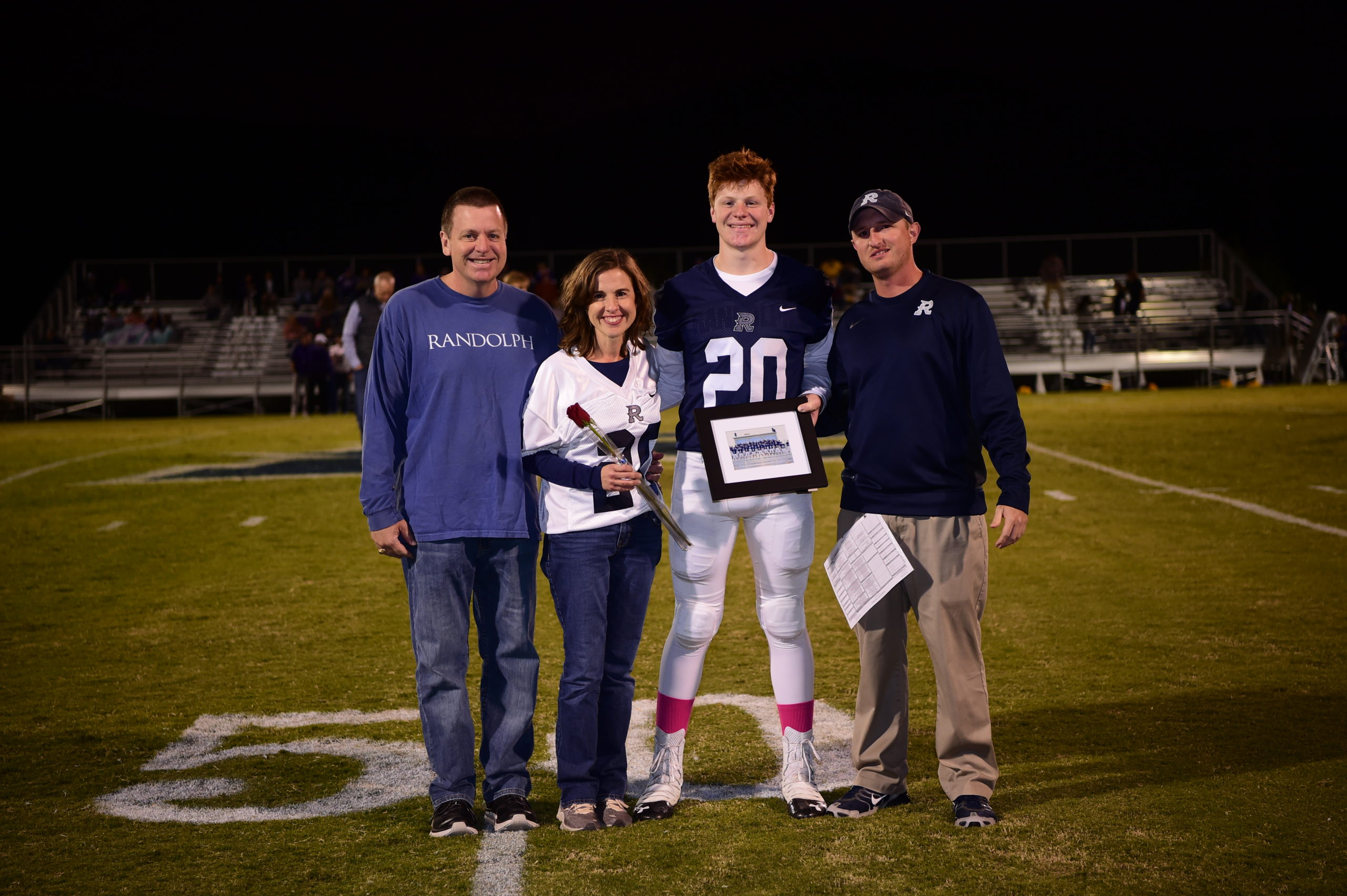 John Calvin Perry with Parents