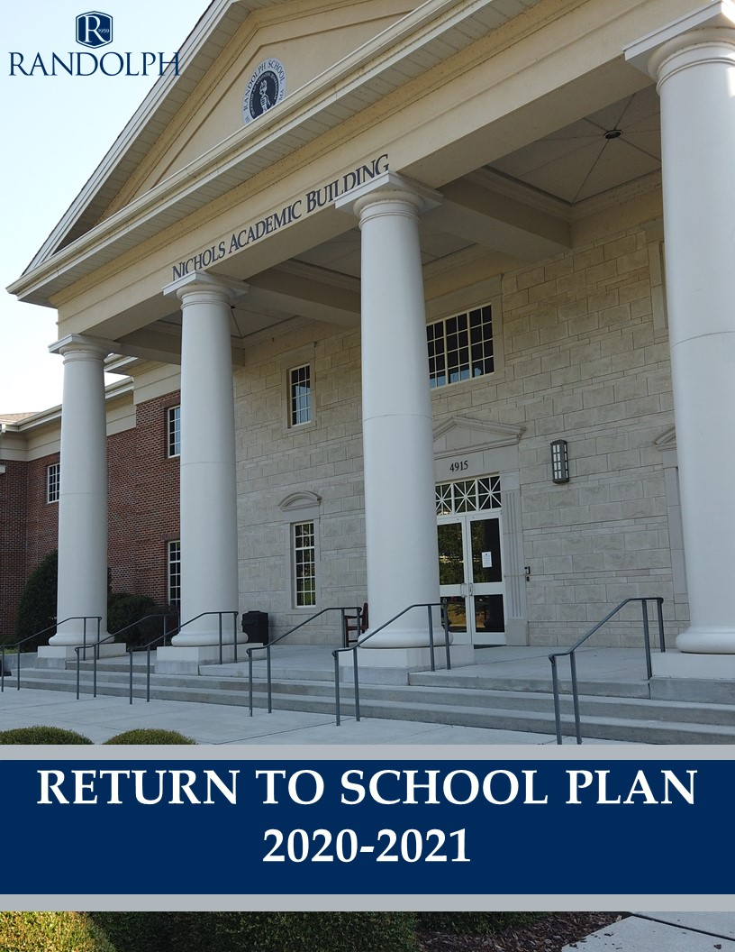 2020-2021 Return to School Plan Graphic Cover Image