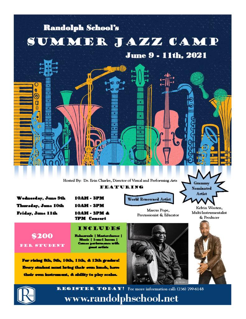 Summer Jazz Camp Poster jpg